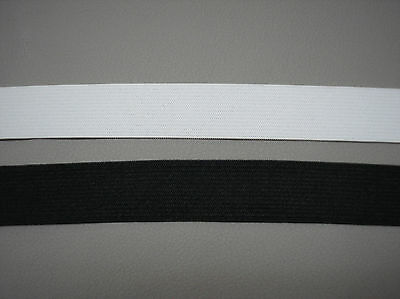 $ CDN10.12 • Buy Black Or White - 1  Wide Quality Woven Elastic