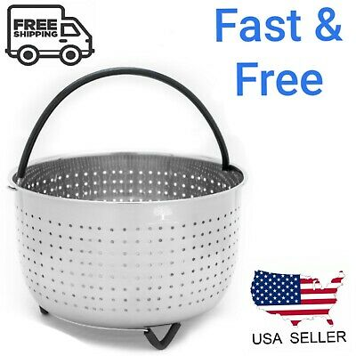 $17.95 • Buy Steamer Basket For Instant Pot 6 - 8 QT Pressure Cooker Accessories Instapot 6QT