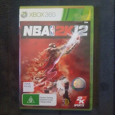 AU14.99 • Buy 🏀 NBA 2K12 || Microsoft Xbox 360 || Pre-owned || Includes Manual || PAL