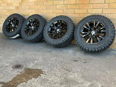 AU2750 • Buy Holden Colorado Z71 Genuine 18 Inch Wheels And Ko2 Bfgoodrich Tyres X4