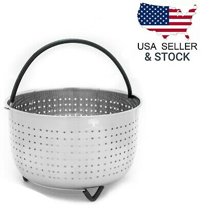 $11.95 • Buy Steamer Basket For Instant Pot 6 -8QT Pressure Cooker Accessories Instapot Foodi