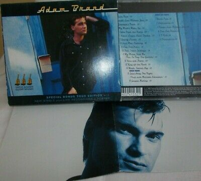 AU10 • Buy Adam Brand / Self Titled - Oz Tour Edition 2 X Cd Set + Poster/outer -very Clean