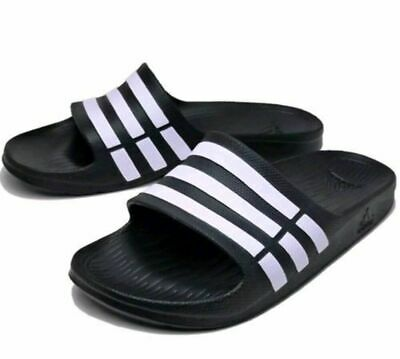 AU55 • Buy G15890 Black/ White Duramo Slides