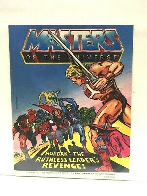 $17 • Buy Masters Of The Universe 1984 Mini Comic HORDAK RUTHLESS LEADERS REVENGE #9 Of 10