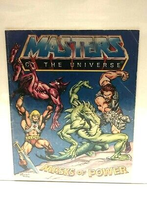 $17 • Buy He-Man Masters Of The Universe 1983 Mini Comic MASKS OF POWER Fine #2 Of 9