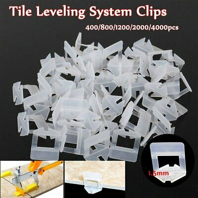 £17.99 • Buy 100-4000PCS Tile Leveling Spacer System Tool Clips Wedges Flooring Lippage Plier
