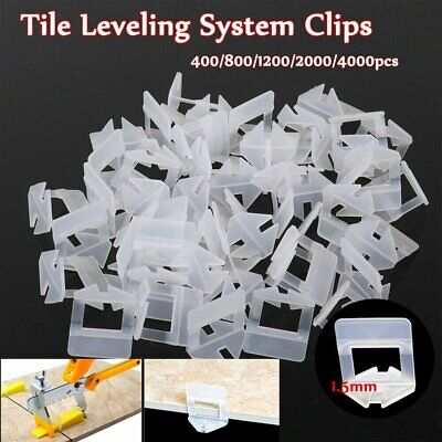 UK 4000PCS Tile Leveling Spacer System Tool Clips Wedges Flooring Lippage Plier • 24.99£