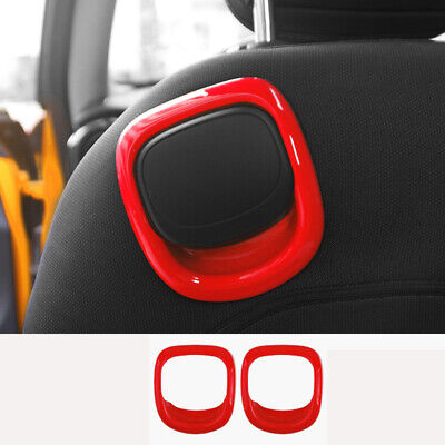 AU85.15 • Buy For MINI Cooper F56 2016-2020 ABS Red Seat Back Handle Outer Cover Trim 1pcs