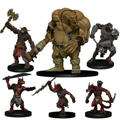 AU37.99 • Buy Miniatures Games--Dungeons & Dragons - Icons Of The Realms Monster Pack: Cave...