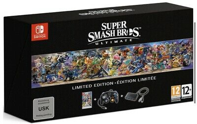 $202.41 • Buy Super Smash Bros Ultimate Collectors Limited Edition Nintendo Switch UK Edition
