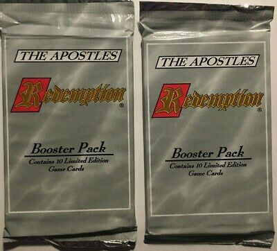 $6.99 • Buy Cactus Games - Redemption CCG, The Apostles Booster Pack (x2) *NEW*