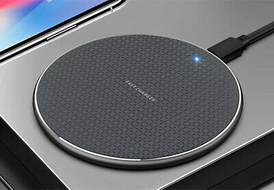 AU20.99 • Buy 2PC Qi Wireless Charger FAST Charging Pad For IPhone 11 XS XR Samsung S10 S20 5G