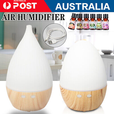 AU22.88 • Buy Aroma Aromatherapy Diffuser LED Essential Oil Ultrasonic Air Purifier Humidifier