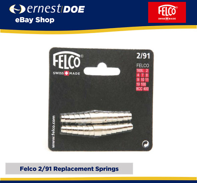 Felco Secateurs Pruner Volute Springs Model 2,4,7,8,9,10 - 2 Pack Genuine Felco • 6.95£