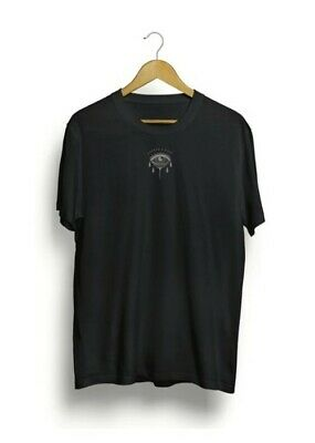 Anchor And Rose Black Eye Graphic Print T-Shirt Size XL  • 9£
