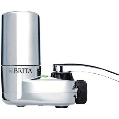 New!Tap Water Faucet Filtration System With Filter Change Reminder, Brita-Chrome • 21.23£