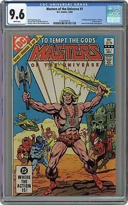 $175 • Buy Masters Of The Universe #1 CGC 9.6 1982 2105434010