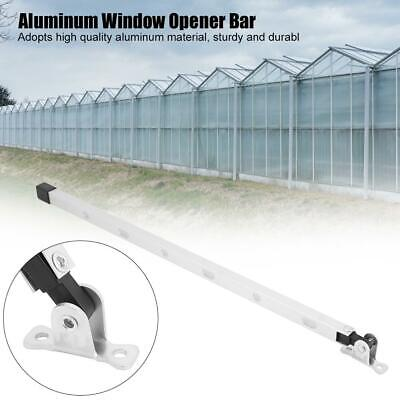Manual Aluminum Greenhouse Window Stay Kit Roof Vent Window Opener Bar PT • 6.10£