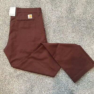 Carhartt Sid Pant Trouser Chino • 70£
