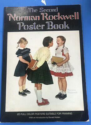 $ CDN11.61 • Buy 1977 Norman Rockwell Poster Book 20 Color Posters Suitable For Framing 16 X11