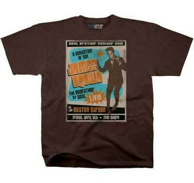 $23.90 • Buy James Brown Soul Brother T-shirt Liquid Blue 2xl New Free Shipping!