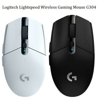 AU74.95 • Buy Logitech G305 G304 Lightspeed Wireless Gaming Mouse 6 Buttons 12000 DPI White