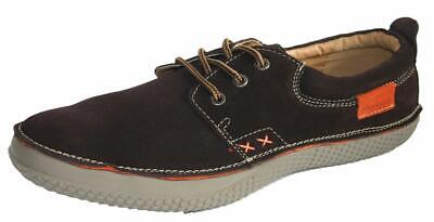 SALE Seafarer Yachtsman Casual Trainer Real Suede Leather Boat Deck Shoe Brown 8 • 14.99£