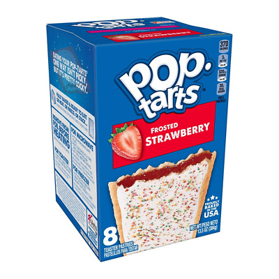 £7.49 • Buy Kellogg's Pop Tarts Frosted Strawberry Toaster Pastries American USA 8's