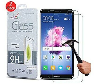 2 Pack Tempered Glass Screen Protector For Huawei P20 Pro P10 P8 P9 Lite Plus • 1.95£