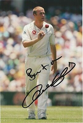 STUNNING ANDREW FLINTOFF ENGLAND CRICKET SIGNED 10x8 GLOSSY PHOTO1 • 34.99£