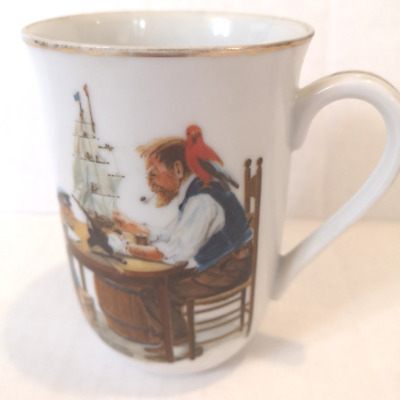 $ CDN18.67 • Buy Vintage Norman Rockwell Museum 'For A Good Boy  Coffee Mug 1982