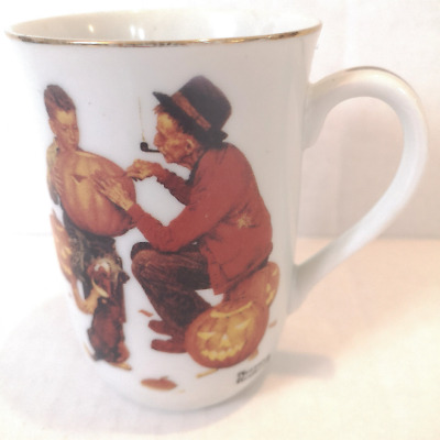 $ CDN16.80 • Buy Vintage Norman Rockwell  Great Pals  8oz Coffee Mug