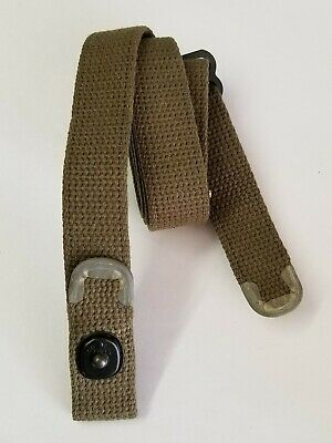 $19.95 • Buy  M1 Carbine O.d. Cotton Sling With  C  Cut Tips.