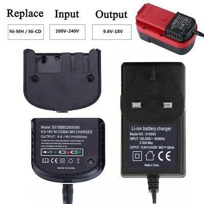 Charger For Black Decker 1.2V-18V A1712 A1718 A12 A18 Ni-MH Ni-CD Battery R5V6 • 14.06£