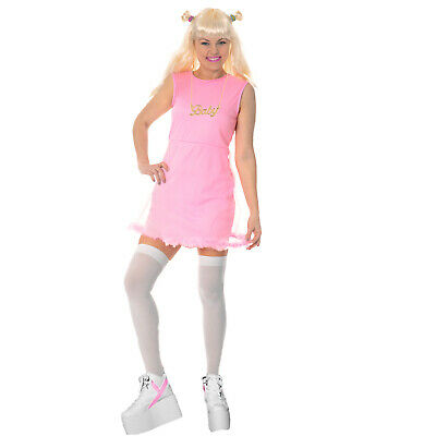 AU17.81 • Buy 90s Spice Girl Popstar Disco Baby Ladies Pop Costume Pink Fancy Dress Halloween