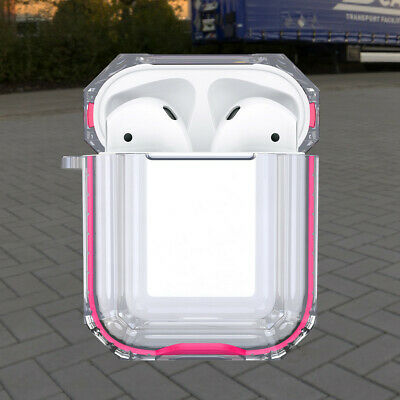 $ CDN12.89 • Buy Transparent Clear AirPods Case Cover Protective Apple Airpods Charging Case