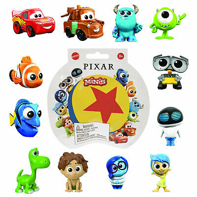 Disney Pixar Minis 2.5cm Mini Figures *Choose Your Favourite* • 4.50£
