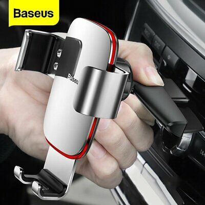 AU20.99 • Buy Baseus Gravity Car Phone Holder CD Slot ALLOY Mount Stand For Iphone Samsung GPS