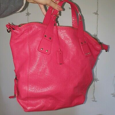 AU350 • Buy MCQ By Alexander McQueen Red Stepney Tote Bag (large)