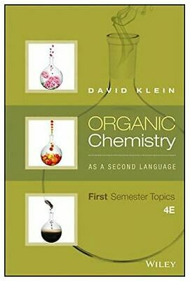 """$5.99 • Buy Organic Chemistry As A Second Language : Second Semester Topics P""""D""""F)"""