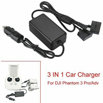 AU43.32 • Buy Car Charger 3 IN 1 4A Advanced Standard Battery Remote Controller DJI Phantom
