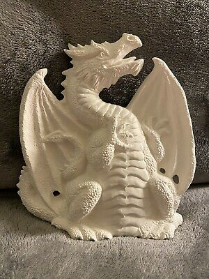 $15 • Buy Ceramic Bisque Dragon Ready To Paint