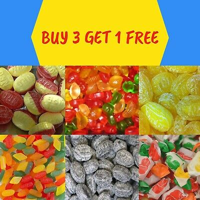 £3.99 • Buy Sugar Free Sweets - Gums Toffees And Boiled Sweets - *** Buy 3 Get 1 Free ***