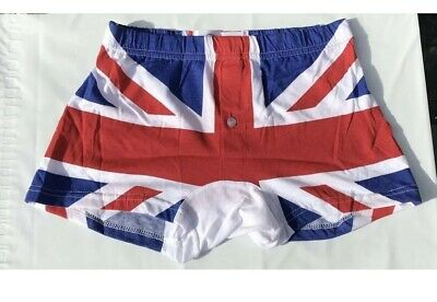 2 Pairs Men's Boxer Shorts Pants Briefs Underwear Boxers Shorts Union Jack Boxer • 7.99£