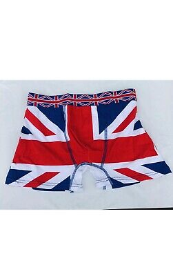 1 Pair Boxer Shorts Men's Underwear Union Jack Pattern Boxer Shorts • 4.99£
