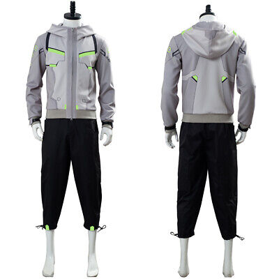 $ CDN134 • Buy OW Cosplay Costume Hoodie Shimada Genji Uniform Trousers  Outfit Suit