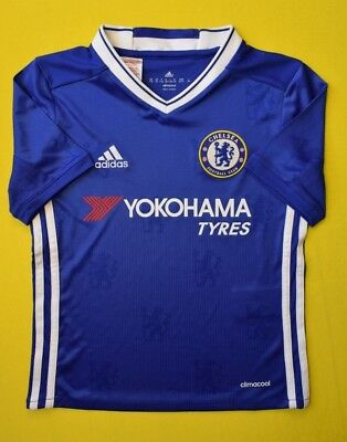 Chelsea Jersey 2016 2017 Home 7-8 Y Kids Blue Football Soccer Adidas AI7124 Ig93 • 21.02£
