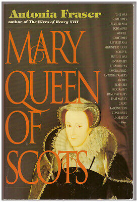 $2.75 • Buy Mary Queen Of Scots By Antonia Fraser PAPERBACK Mary Stuart Biography Tudor