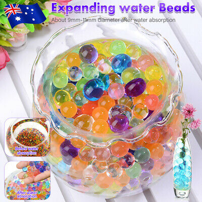 AU17.99 • Buy 50000pcs Crystal Water Balls Jelly Gel Beads For Vases Orbeez MultiColor AU