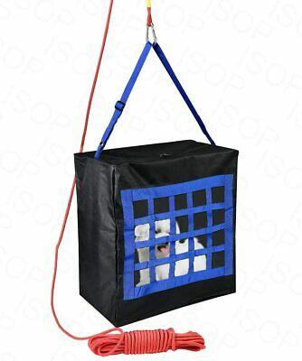 Fire Evacuation Carrier For Kids Or Pets Up To 40 Kg - Escape Bag & Rope 15m • 42.88£